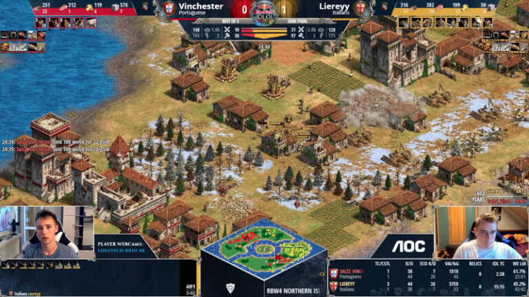 Final del Torneo Age of Empires 2: Red Bull Wololo IV