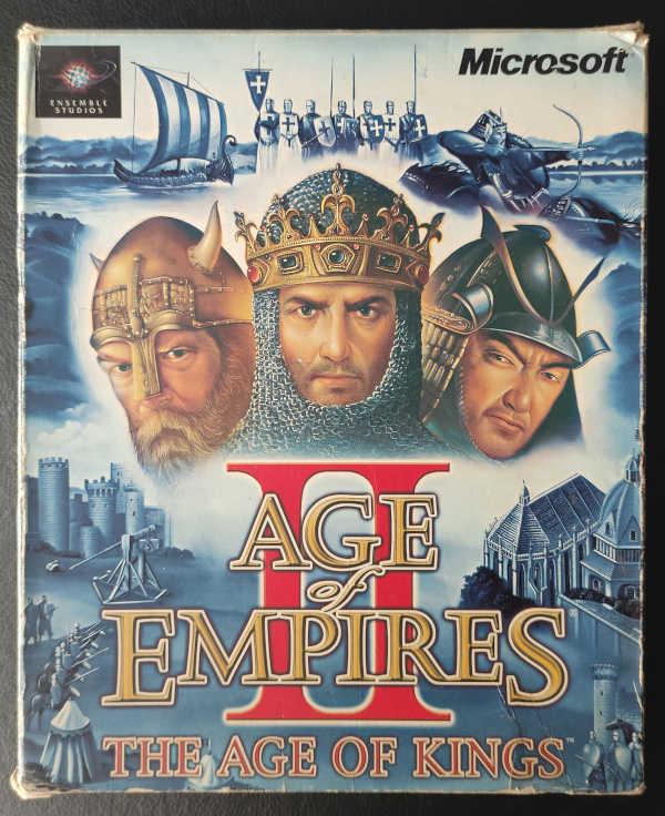Caja Original Age of Empires II