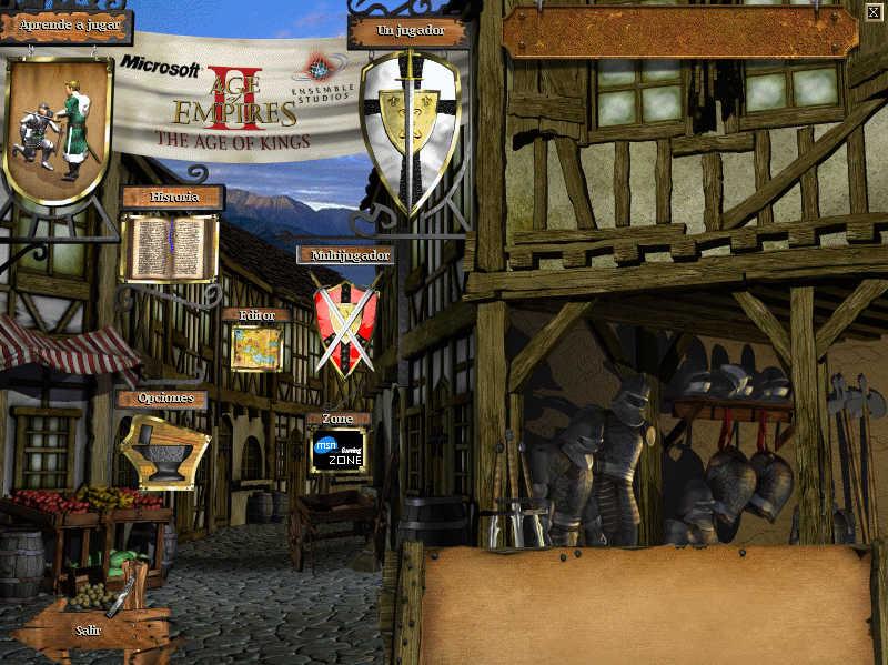 Age of Empires II escritorio